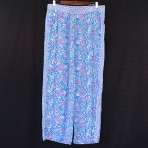 Lilly Pulitzer Printed Lounge Pants Size Large